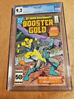 Booster gold #1. GCG 9.2 NM- CONDITION! FIRST APPEARANCE OF BOOSTER GOLD! (1986)