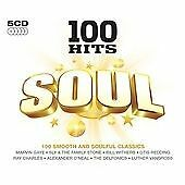 Various - 100 Hits Soul (2015)  5CD Box Set  NEW/SEALED  SPEEDYPOST
