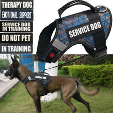 EMOTIONAL SUPPORT Dog Vest Harness W/ Patch IN TRAINING Therapy Dog DO NOT PET