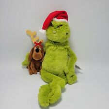 Dr. Seuss THE GRINCH & MAX Plush Barnes & Noble Exclusive Manhattan Toy 2018 NWT
