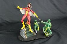 Marvel Diamond Select SPIDER-WOMAN w/Hydra Soldiers Base Avengers Collector's Ed
