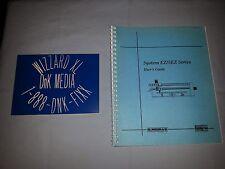 Dahlgren / Suregrave System EZ /SEZ Series MB Manual