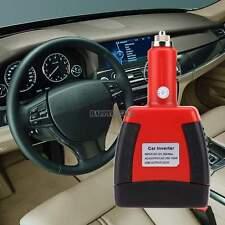 Peak 200W 12V/120V Vehicle Plcket Power Inverter Portable Car AC Outlet w/ USB h