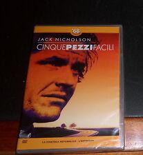 CINQUE PEZZI FACILI con Jack Nicholson * 1968 e dintorni * Repubblica DVD NUOVO