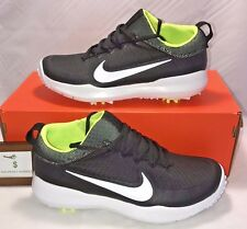 NIKE MENS SIZE 10 FI PREMIER GOLF SHOES BLACK WHITE VOLT RORY NEW RARE