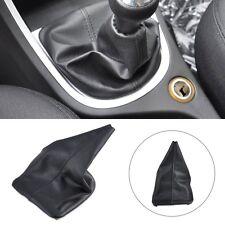 New MT Black PU Leather Gear Shift Knob Gaiter Glove Cover Fit Peugeot 307 01-08