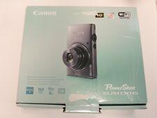 Open Box - Canon PowerShot ELPH 130 IS 16.0MP Camera - GRAY - 013803213591