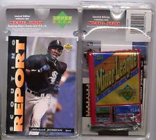 Michael Jordan UD Baseball Scouting Report Blister #SR4 16-cd/Pack & Jumbo Card