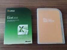 Microsoft Office Excel 2010 / Vollversion / Retailbox inkl. DVD / 065-06962