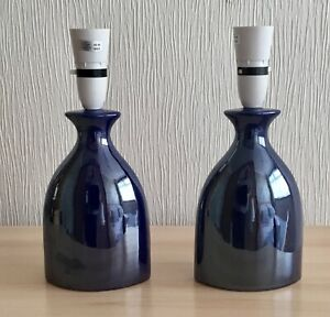 """Nice Pair Of Endon  Lamps  11"""" High"""