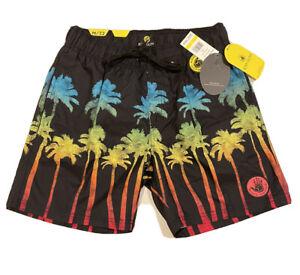 Body Glove Gradient Palm Men's Swim Trunks/shorts Size M