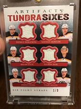 2013/14 UD Sixes 1/3 Fight Straps Chara Rask Seguin Bergeron Lucic Boston Bruins