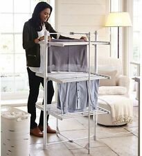 Electric 3 Tier Heated Indoor Clothes Airer Under 6p an Hour Lightweight