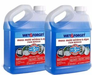 1 X 5L WET AND FORGET MOULD, ALGAE AND LICHEN REMOVAL  MAKES 30L BRAND NEW STOCK