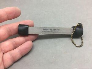 Lansky Sharpener Las Vegas Nevada Patent Knife Sharpening Hone Triangle Keychain