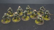 Bolt Action 28mm Painted Airborne Pathfinder Squad