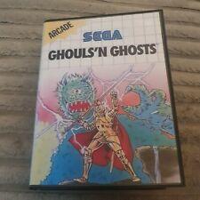 Ghuls 'n Ghosts Sega Master System Boxed no manual