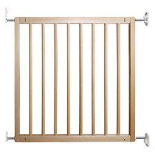 Wooden Baby Infant Children Dog Pet Safety Stair Gate Sturdy Secure Doorways New