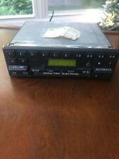 BECKER GRAND PRIX 612 VINTAGE FM RADIO And Cassette Working Radio.  Please Raad