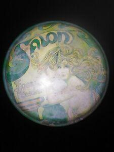 Scatola in latta Avon per borotalco vintage tonda art. 617 cipria