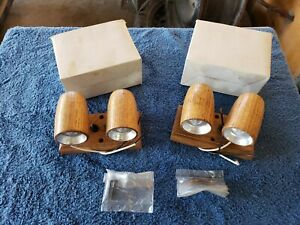 Vintage Van Interior WOOD  Lights Boogie CUSTOM 70s Van PAIR CHEVY FORD DODGE