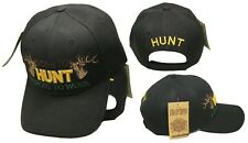 Black Born to Hunt Forced to Work Redneck Hunting Baseball Hat Cap
