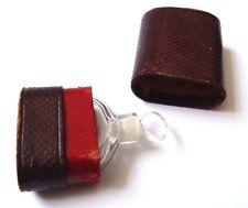 Beau petit flacon à parfum sels en cristal 19e siècle bottle perfume