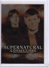 Supernatural Connections Promo Card P-UK PUK Sam and Dean Winchester Inkworks
