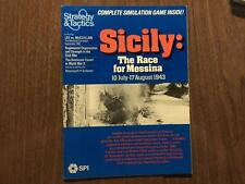 SPI Sicily #89 Unpunched With Strategy & Tactics (S&T) Magazine