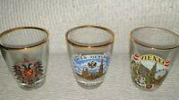 Shot Glasses Austria Set Of Three