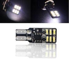 10Pcs T10 W5W 194 168 12 SMD 3014 Strobe Flash Reading Light Interior LED 158