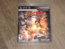 Street Fighter X Tekken PlayStation 3 PS3 Complete CIB Authentic