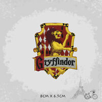 Harry Potter Gryffindor Logo Patch Iron On Patch Sew On Embroidered Patch