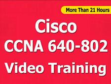 Cisco CCNA 640-802 (640-822 + 816) Video Training CBT - 21+ Hours