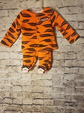 Disney Baby Infant Tigger Outfit Costume Halloween 3-6 Months Tiger 2 piece set