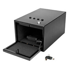 Button Keypad Code Combination Lock Gun Safe Box Portable Travel Steel Hard Case