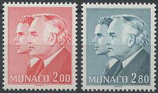 1983  MONACO N°1374/1375** RAINIER III & ALBERT, MNH
