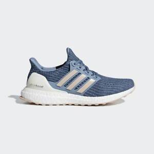 New Adidas Ultra Boost 4.0 Women Blue/White BB6493 Ultraboost