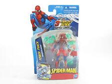 """Marvel Universe Spider-Man Power Punch, 4"""" figura en perfecto estado en cartón sellado Nuevo"""