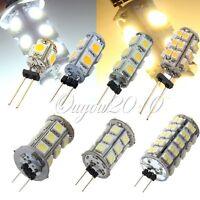 10x G4 1210/5050 SMD 5/9/13/18/24/26/68 LED Corn Light Bulb Lamp Pure/Warm White