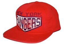 New York Rangers Reebok Nhl Retro Sport Adjustable Snapback Hockey Cap Hat