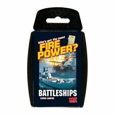 TOP TRUMPS BATTLESHIPS CARD GAME BRAND NEW