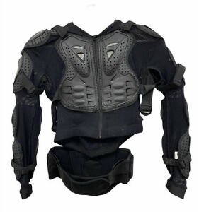 Fox Racing Sport Jacket 10050 Titan Jacket Size Medium Dirt Track Armour Medium