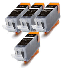 4 PK BLACK for PGI-225PGBK Printer Ink Cartridge for Canon 225 High Quality