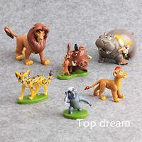 6X The Lion King Lion Guard Action Figure Playset Simba Kion Timon Pumbaa Cute