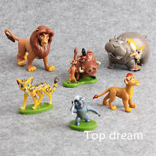 6X The Lion King Lion Guard Action Figure Playset Simba Kion Timon Pumbaa Cute