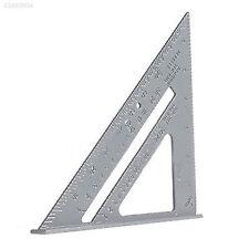 3b08 Aluminum Alloy Speed Square Protractor Miter Framing Measurement Carpenter