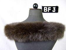Kapuzenstreifen 68 cm Pelz Fell Kapuze Pelzstreifen Schal Neu Fuchs BF3