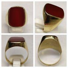 Ring 333er Gold mit Karneol Goldschmuck Goldring