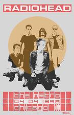 Radiohead 1996 Tour Poster